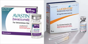 Avastin-Lucentis